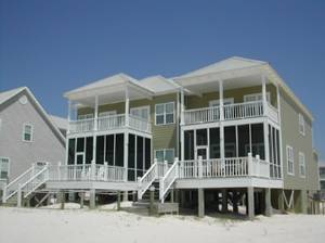 Alabama Beach Rentals